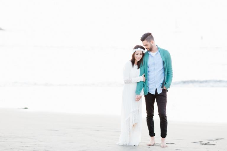 Venice beach engagement photos