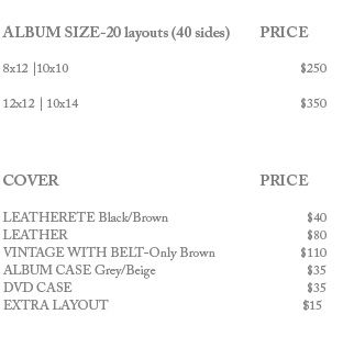only prices